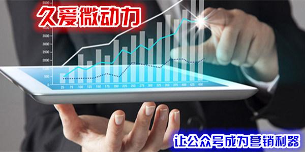 久爱微动力平台,助力您的微信公众号推广
